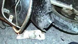 血的教训:电动车自摔 驾驶人身亡