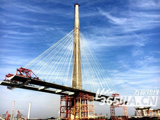 芜湖长江二桥2017年底预计建成通车