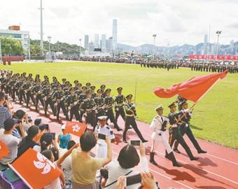 前方高能!一组美图带你全方位领略驻香港部队风采