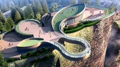 中国最稳固玻璃桥:高千米凸出悬崖30米,承重千吨可抗8级地震