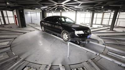 安徽首个智慧立体停车库长啥样?90秒自动停取车