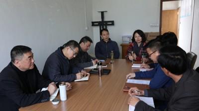 市广电台党委班子成员赴无为县天花村进行扶贫调研和走访慰问