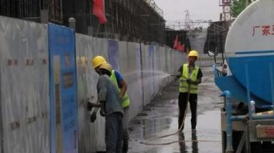 芜湖市公路局弋江路马塘立交项目积极配合迎接 第五次全国文明城市指数测评活动