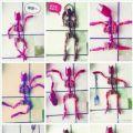 """吃虾的最高境界:虾壳摆成了""""变形金刚""""(图)"""