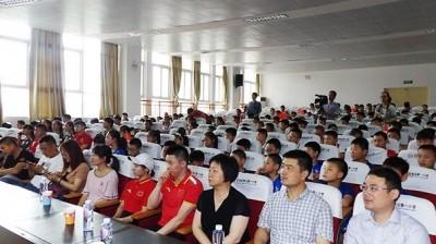 芜湖:奥运明星走进校园 助推体育事业发展