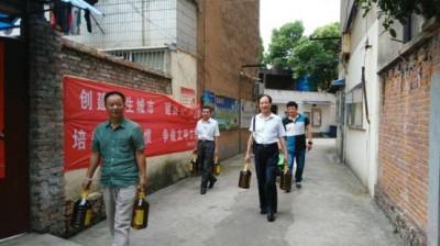芜湖市实验台党支部开展志愿者活动