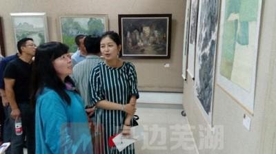 首届青年美术教师作品展 展示美术基础教育的水平