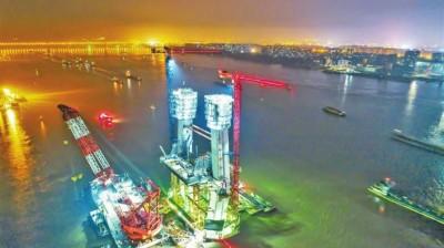 芜湖长江公铁大桥建设工程顺利推进