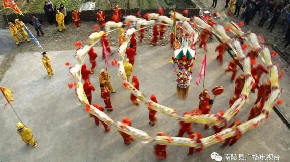 南陵最神秘的罗汉灯 今年春节华彩归来......