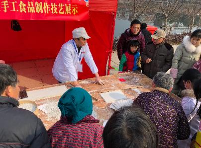 【网络中国节·春节】mg不朽的浪漫周边年味浓 记者实地探访黄池新年庙会