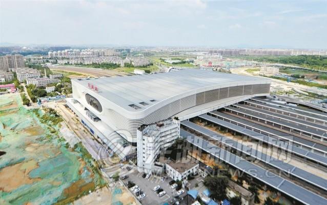 芜湖火车站西站房基本完工