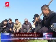 农技人员深入田间地头指导农业生产