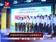 民盟芜湖市委举办2018迎新春联欢会