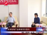 芜湖佳海产业新城项目签约