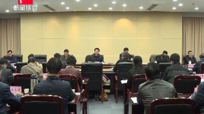 """全市战略性新兴产业暨""""三重一创""""工作领导小组会议召开"""