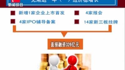 芜湖这一年(一)经济稳增长