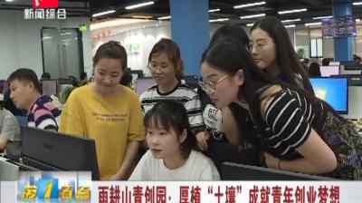 """雨耕山青创园:厚植""""土壤""""成就青年创业梦想"""
