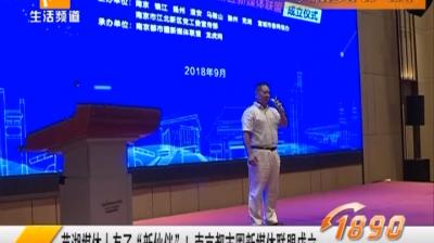 """芜湖媒体人有""""新伙伴""""了 南京都市圈新媒体联盟成立"""